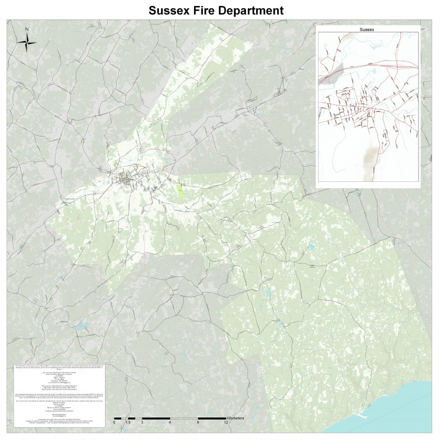 Sussex Fire Department Boundary